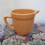 Diana Pottery Jug Australia Gold Ovenware 1950s