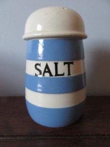 Cornish Ware Salt