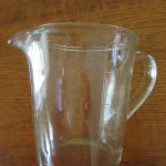 Depression Glass Measuring Jug 2 Pint Australia 1930s