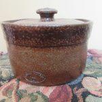 Bendigo Pottery Epsom Noel Bailey 1970s Handmade Salt-glazed