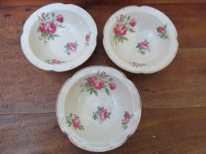Victorian Rose Bowls Johnson