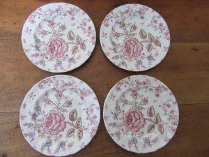 Johnson Bros Rose Chintz Pink