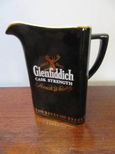 Glanfiddich Scoth Whisky Water Jug
