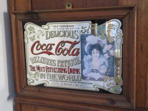 Coca Cola Bar Mirror