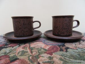 Arabia Ruska Coffee Cups