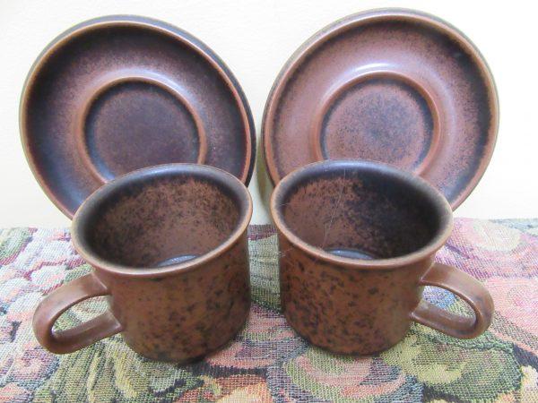 Arabia Ruska Coffee Cups