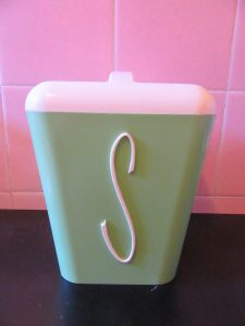 Gay Ware Canister Green Sugar