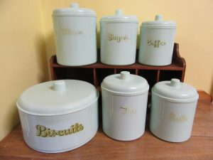 Cleaning Bakelite Canisters