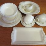 New Hall Dinner Set for 4 Extras 23 Pieces Diana 1930s Hanley England