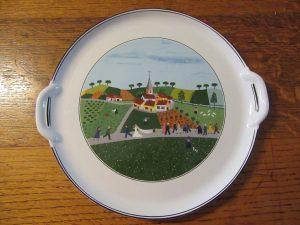 V&B Wedding Platter