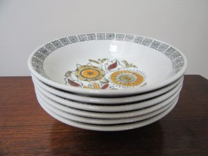 Kathie Winkle Calypso Cereal Bowls