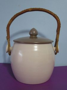 Poole Pottery Biscuit Barrel