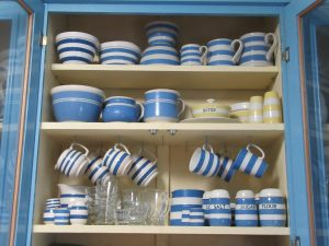 Collecting Blue & White Stripes