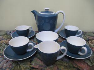 Poole Coffee Set