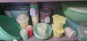 1960s Pastel Tupperware
