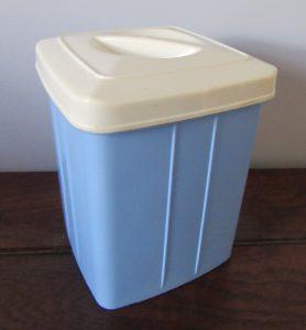 British Plastics Canister
