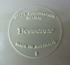 Nylex Bessemer Back Stamp
