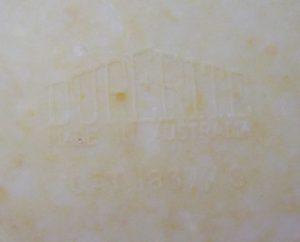 Duperite Back Stamp