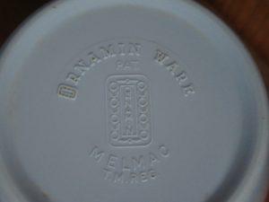 Ornamin Ware Back Stamp