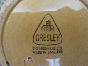 TG Green Gresley Repton Jar