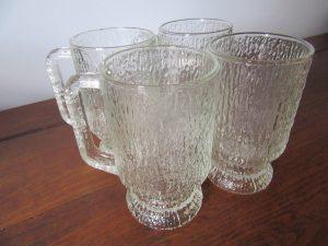 Indiana Glass Beer Mugs