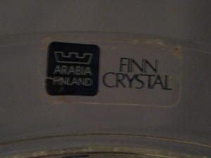 Finn Crystal Flora Plate