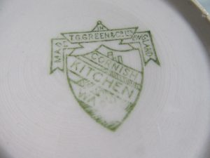 Cornishware Backstamp
