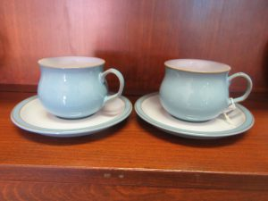 Denby Tea Cups & Saucers