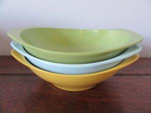 Nylex Bessemer Melmac Cereal Bowls