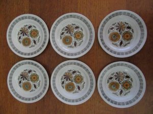Kathie Winkle Calypso SIde Plates
