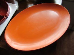 Ornamin Ware Oval Plate