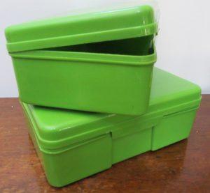 British Plastic Lunch/Picnic Boxes