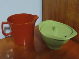 Bessemer Jug & Sugar Bowl