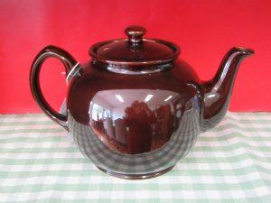 Sadler Brown Betty Teapot
