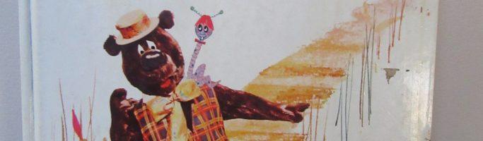 Heres Humphrey Bear Story Book and Feeding Bowl Australia 1980s