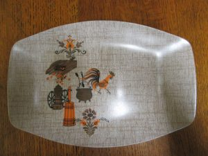 Tamco Hollywood Rooster Platter