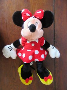 40cm Minnie Mouse real Disney