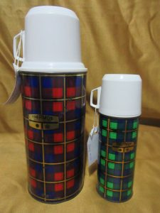 Tartan Thermos Vacuum Flasks