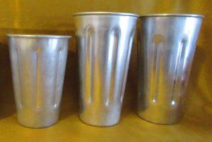 Aluminum Milk Shake Cups