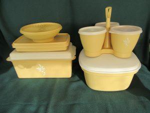 Harvest Gold Tupperware