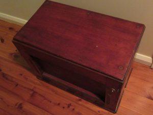 Red Cedar Telephone Exchange Box