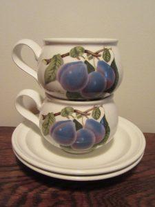 Portmeirion Pomona Plum Cups
