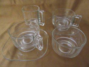 Joe Colombo Glass Tea Set