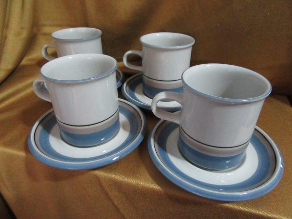 Arabia Finland Uhtua Coffee Set