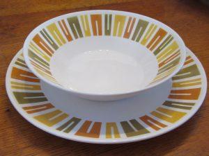 Primastone Aztec Platter & Bowl