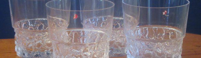 Iittala Kimara Whiskey Glass from a thrift shop