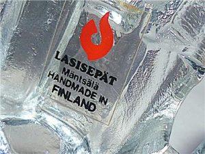 Lasisepat Finland Sticker
