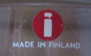 Iittala Finland Sticker