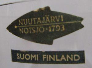 Nuutajarvi Notsjo Sticker