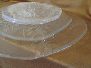 Kosta Boda Party Leaf Plates